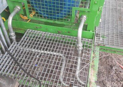 Изработка на хидравлична линия