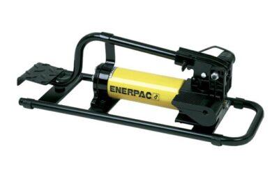 Еднодействаща двустепенна крачна помпа ENERPAC P392FP