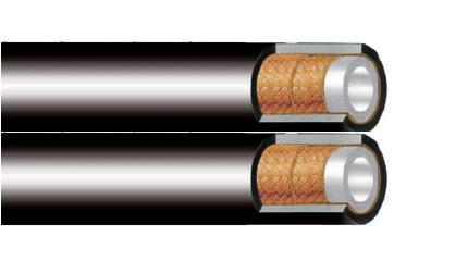 Термопластичен маркуч за боя 2ST сдвоен