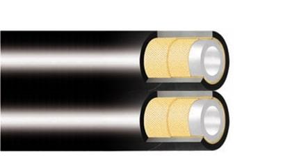 Термопластичен маркуч R7 сдвоен