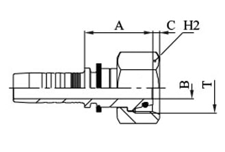 Метричен накрайник DKOL
